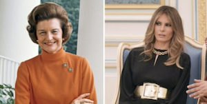 Betty Ford and Melania